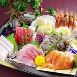 大馬鹿地蔵 池袋西口 豊洲市場から新鮮な鮮魚を毎日仕入れ
